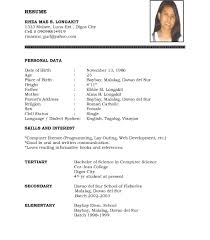 Resume Sample Blank Form Resume Template Blank Resume Sample Blank