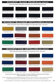Hok Paint Color Chart House Of Color Paint Chips House Of Kolor Custom Paints