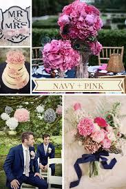 12 new wedding color combos chi town brides Wedding Colors Navy And Pink color combos weddings wedding colors navy blue and pink