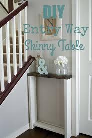 skinny entryway table. Skinny Entryway Table A