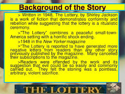 essay the lottery co essay the lottery