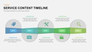 Service Content Timeline Powerpoint And Keynote Template - Slidebazaar