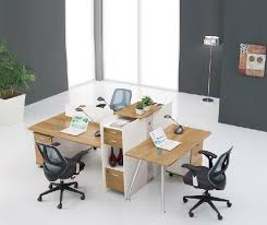 Interesting Deck Screen Desk Office Furniture Shanghai Four Person For Decor