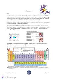 Chemistry-Chemistry Notes On Isotopes/Ions/Mixtures/Periodic Table ...