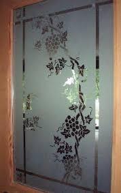 interior door etching glass thickness
