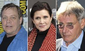 mark hamill carrie fisher harrison ford 2013. Fine Mark Star Wars Episode VII So Whou0027s Making Coming Back With Mark Hamill Carrie Fisher Harrison Ford 2013 I