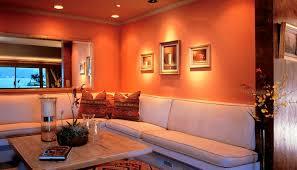 Burnt Orange And Brown Living Room Concept Cool Design Inspiration