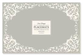 Designer Paper Placemats Amazon Com Faux Designs Paper Placemats Charlotte