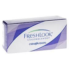 Freshlook Colorblends Toric Color Chart Freshlook Colorblends