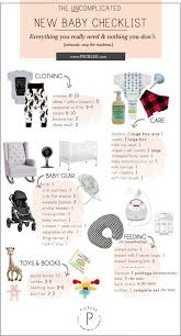 Baby Supplies Checklist The Uncomplicated Minimal New Baby Checklist For New Moms