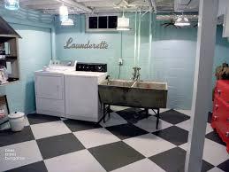 Modern Unfinished Basement Floor Ideas Flooring Concrete Paint Fatwallet Throughout Beautiful Design