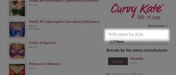 Bra Size Charts By Brand Bratabase Blog