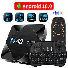2020 HONGTOP Android 10.0 TV Box 6K H616 Quad Core tvbox 4GB 32GB 64GB  H.265 Dual wiFi 2.4G 5.8G H40 Media Player Set Top Box|Set-top Box
