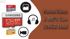 How Many Photos Videos Or Mp3 Can 128gb Hold