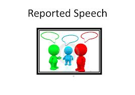 Reported Speech Chart Reported Speech Summary Chart