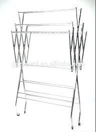 wire shelving garment rack top metal clothing with regard to in steel alera cover clo