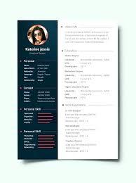 Resume Template Document Resume Vitae Template Free Doc Cv Creative