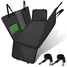 deko dog car seat cover view mesh pet
