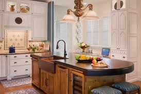 extraordinary brown color kitchen wood countertops featuring brown color double bowl farmhouse type kitchen sink and bronze color faucet and white brown