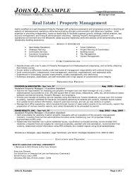 Property Management Specialist Sample Resume