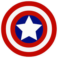 Captain America Shield Emblem | emblem in 2018 | Pinterest | Captain ...