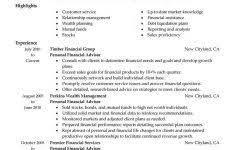 Senior Financial Planning Resume Samples Velvet Jobs S ~ Allanrich