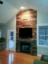 reclaimed barnwood fireplace wicked old wood co denver nc