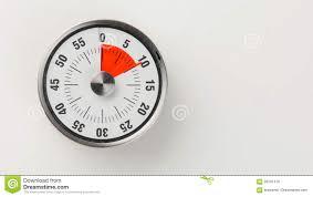 Timer 10 Minutes Vintage Analog Kitchen Countdown Timer 10 Minutes Remaining Stock