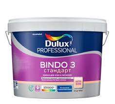 Глубокоматовая <b>краска Dulux</b> Professional Bindo 3 купить по цене ...