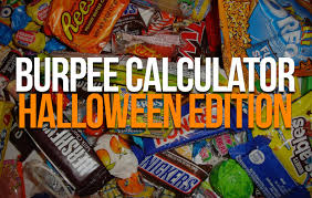 bur calculator what it takes to burn one piece of fun size candy