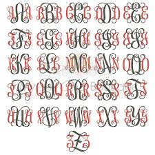 Letters In Design Intertwined Monogram Embroidery Fonts Machine Letters Designs Intertwined Monogram Design Bx Monogram Fonts 10 Sizes
