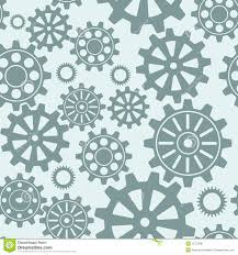 Gear Pattern Fascinating Seamless Gear Pattern Stock Vector Illustration Of Element 48