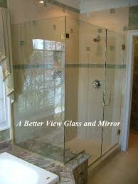 frameless glass shower enclosure installed williamsburg virginia