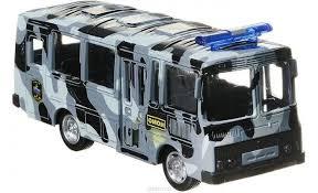 <b>Автобус</b> Омон инерционный Автопарк 1:61 <b>Play Smart</b> — купить в ...