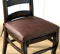 leather dining room chairs chair cushions faux pads clic cushion gripper seat covers black dinin