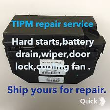 2011 12 vw routan touareg tipm tipm repair totally integrated 2011 12 vw routan touareg tipm tipm repair totally integrated fuse box