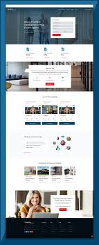 Buy Web Page Design Real Estate Website Template Reality Responsive Real