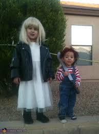 chucky and his bride morticia and gomez addams costume