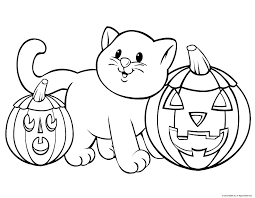 Small Picture Halloween Coloring Pages FREE Halloween Printables Super Cute