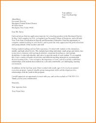 Cover Letters For Teachers Sample Teacher Resumes And Best Letter
