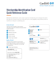 Your personal details change, for example your name, address or doctor. Https Provider Carefirst Com Carefirst Resources Provider Pdf Membership Id Card Quick Reference Guide Cut9740 Pdf