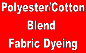 Cotton Fabric Dyeing Process Flow Chart Flow Chart Of Polyester Cotton Blended Fabric Dyeing