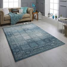 Image Blue 1544 Zarah Blue Rug By Oriental Weavers The Rug Shop Blue Rugs Duckegg Rugs Therugshopuk