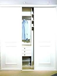 sliding wardrobe door tracks closet door track systems closet door track compact bypass closet doors bypass