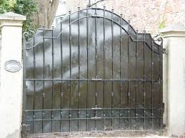 wrought iron gates devon ornamental