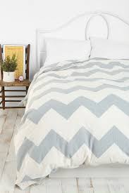 image of gray chevron bedding urban