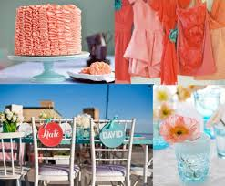 2012 wedding decoration trends turquoise and coral wedding