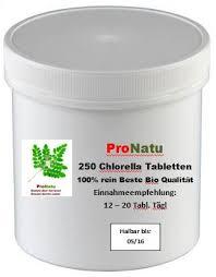 Beste chlorella tabletten