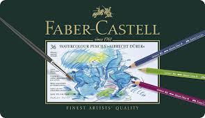 Faber Castell 117536 Crayons De Couleur Aquarellables Albrecht
