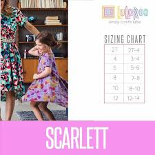 Lularoe Kids Size Chart Lularoe Scarlett Sizing Chart For The Perfect Fit Lularoe